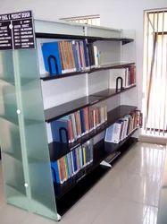 Acrylic Library Shelve