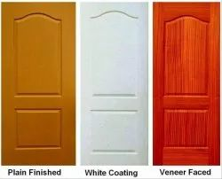 Ply Wood Plain Pine Wooden Door, Shape: Rectangular, Glossy
