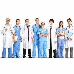 Plain Polycotton Hospital Uniforms Doctors Aprons