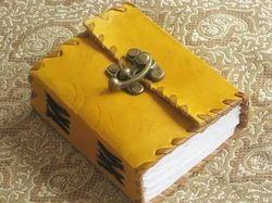 Mini Journal With Brass Clasp