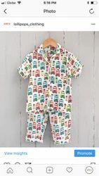 Organic Cotton Infant Baby Clothing