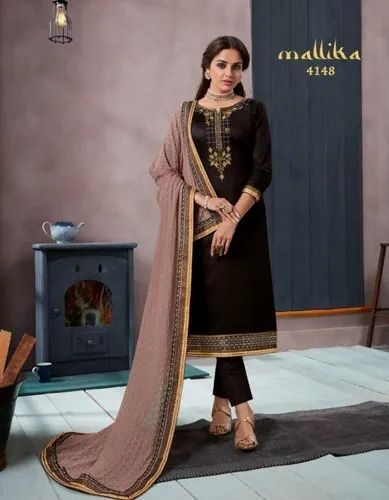 dce02947ad Party Wear KESSI MALLIKA JAM SILK SUITS, Machine Wash, Rs 1099 ...