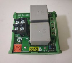 Ul 2ch 12v/24v Genset Start/Stop Relay Card