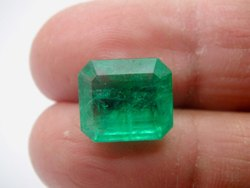 Green Gemstone Emerald Zambia