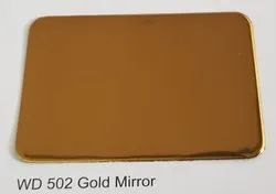 Wd 502 gold mirror acp sheets