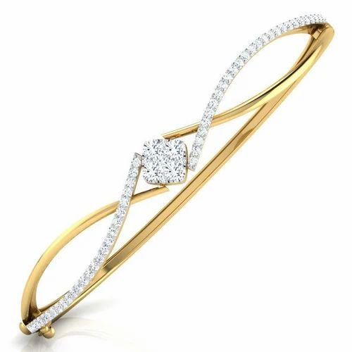 c5a72f2be8e Stylish Diamond Bracelet at Rs 80000 /piece | Diamond Bracelet ...