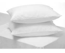 Plain White Anti Dust Mite Pillow Covers