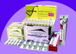 Diclofenac Pot. Paracetamol Serratiopetidase Tablet
