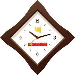 Square Shape Wall Clock