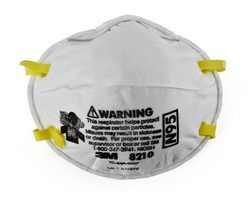 3M Pollution Mask N-95 8210