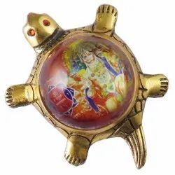 Eshoppee Shri Shree Panchkukhi Hanuman Yantra On Metal Tortoise