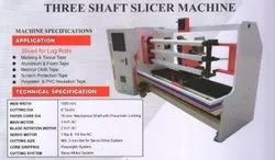 Slicer Machine  ( Three Shaft )