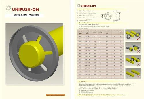 Push On Lock Washers