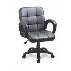 SPS-242 Low Back Workstation Leather Chair