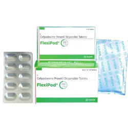 Cefpodoxime Proxetil Dispersible Tablet