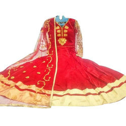 Cotton Printed Anarkali Designer Suit