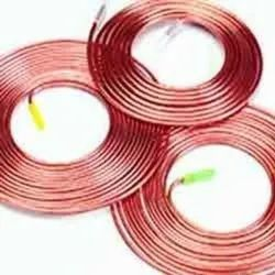 Copper Tube Polished Copper Tubes, Grade: Industrial Grade, for Air Condition