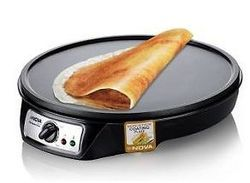 BLACK Electric Dosa Maker, Usage: DOMESTIC