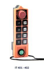 IT 401D/402D Radio Remote