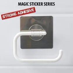 Stainless Steel Power Coating Kitchen Bathroom Plastic Napkin Tissue Holder, For Home,Hotel, Size: Adjustable