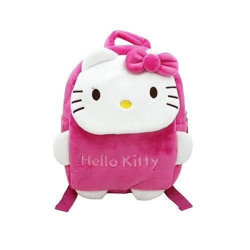 a2bbea005 Soft Cloth Pink And White Hello Kitty Soft Plush Small Bag For Girls,  Toddlers