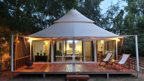 The Ganesha Ultra Luxury Resort Tent & The Ganesha Ultra Luxury Resort Tent at Rs 1250000 /piece | Luxury ...