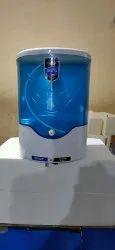 Automatic Sanitiezer Machine In Blue