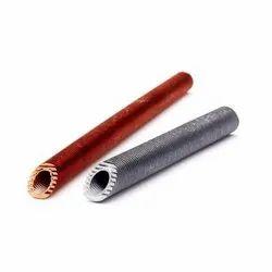 Indigo Straight Copper Pipe 40FPI Inner Grooved-Finned Tubes