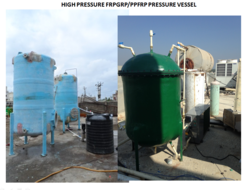 FRP High Pressurized Hot Water Tanks