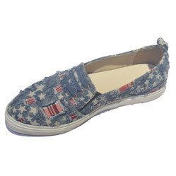 Ladies Denim Sneakers, Size: 36-41