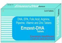 DHA, EPA, Folic, Arginine, Piperine, Vitamin And Zinc