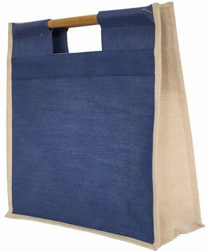 c6989709f0fc Jute Shopping Bag - Bamboo Handle Jute Bag Manufacturer from Kolkata