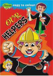 Copy To Colour Our Helpers