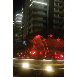 Multipattern Programmable LED Fountain
