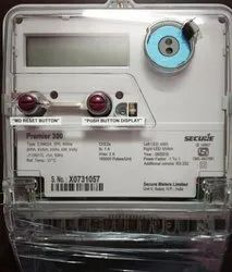 Secure HT Meter Premier 300, Class - 0.2s, Three Phase RS -232, 110V
