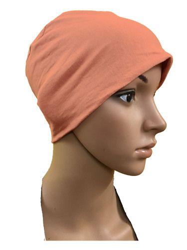 GIRRIJA Peach cotton caps chemo beanies cancer caps women summer chemo caps 29fef0bd0ec0