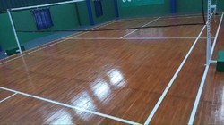 Imported Teak Wood Sports Flooring