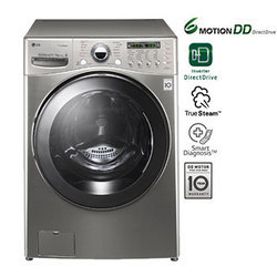 17 9kg Stainless Steel Finish 6 Motion Washer Dryer