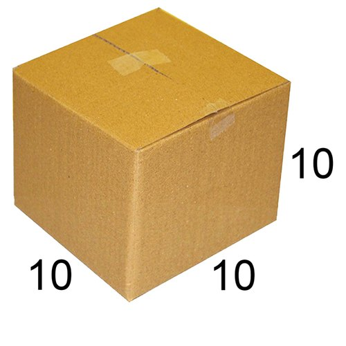 Square Single Wall - 3 Ply Plain Packaging Corrugated Box