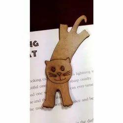 Funky MDF Bookmark