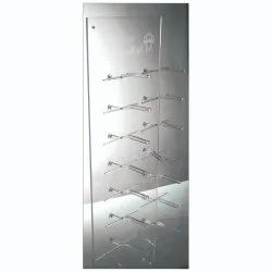 Acrylic Eye Wear Back Wall Display Rack