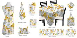 Birds Textile Printed Table & Kitchen Linen Set