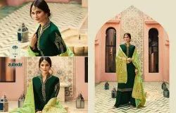 Zubeda Nyra Banarasi Vol-2 Georgette Dress Material With Banarasi Dupatta Collection