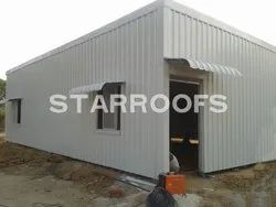 Residential Roofing Shed