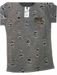 50-60 inch Plain Rugged Jacquard Fabric, For Garments, GSM: 100-150