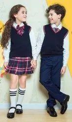 Dasganu Garments Terry Cotton Winter Full Sleeves School Uniform
