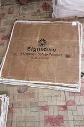 Signature Refractory Heat Resistance Ceramic Fiber Cloth With Vermiculite Coated