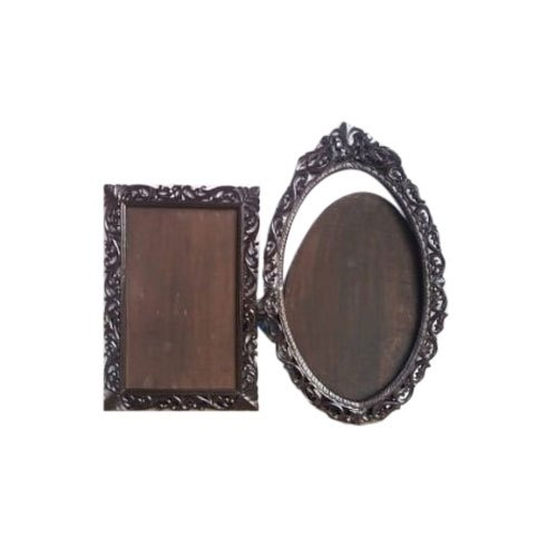 Teak Wood Antique Carving Photo Frame For Interior Decoration