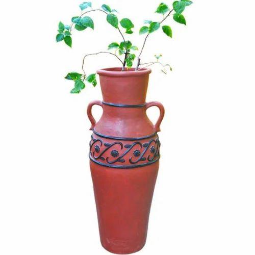 Red And Black Paanai Planter