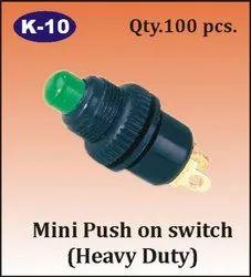 K-10 Mini Push On Switch